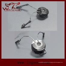 COMTAC eu / II arco adaptador capacete ferroviário suspensão C1, C2 suporte de fone de ouvido