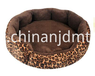 Leopard Print Pet Beds