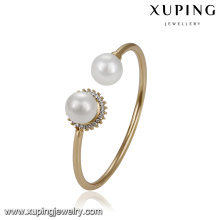 51749 xuping wholesale latest gold jewellery designs fashion women bangle for wedding