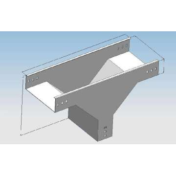 Cable tray tee support system