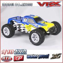 1 10 масштаба 4WD Высокая скорость автомобиля RC