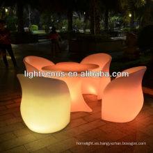 Multi color cambio LED Sofá / Silla