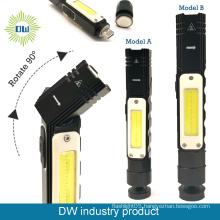 LED+COB USB Rechargeable Flashlight/Headlamp