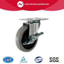 Abgebremster TPR Light Duty Industrial Caster