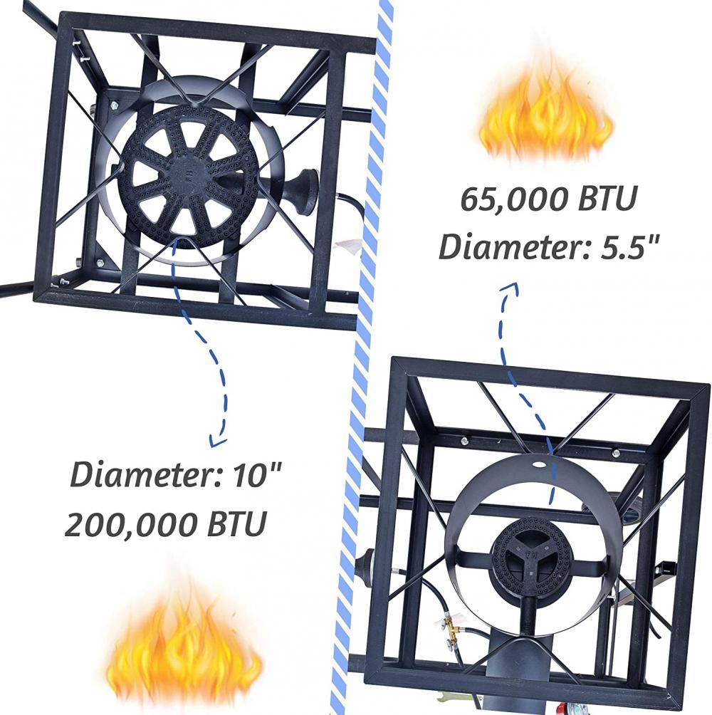 Outdoor Double Burner Stove