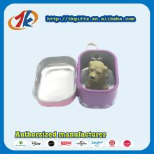 Venda quente Bonito Mini Toy Dog e Box Set para Crianças