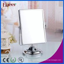 Fyeer Double Side Rectangle Makeup Mirror Magnifying Desktop Table Mirror