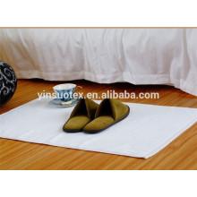 100% cotton anti slip bath mat