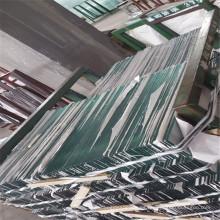 Vidrio templado de seguridad para mesa de comedor de vidrio, gabinete de vidrio