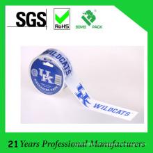 Fita impressa solvente da embalagem de BOPP do logotipo