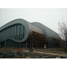 Aluminium-Verbundplatte für Stahlrahmen Stadion Gebäude