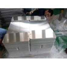 Esquemas pré-perfurados e radius Retangle Aluminum Sign Blanks