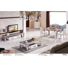 Mesa de centro inoxidable superior de los muebles caseros del Steen