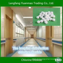Désinfection des hôpitaux Tablette de dioxyde de chlore