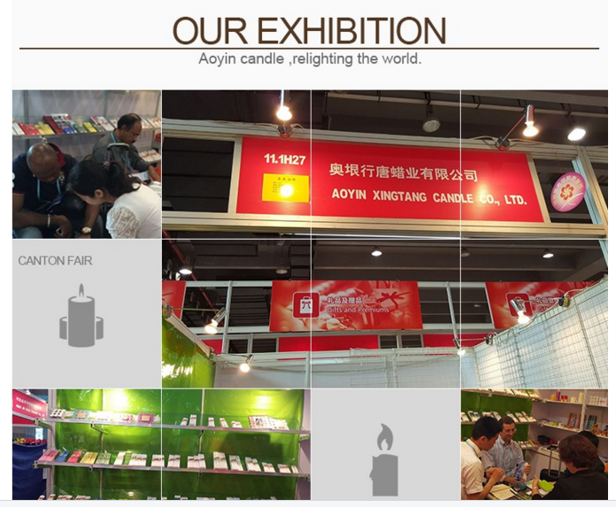 candle canton fair exhibition