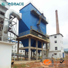 dust collecting system industrial pulse jet cyclone dust collector