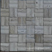 Marble Mold Mosaic, 3 D T Style Mosaic,Travertine Stone Mosaic Tile