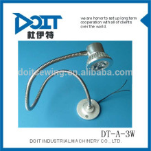 Luz flexível da tubulaço do diodo emissor de luz de DOIT 3W DT-A-3W