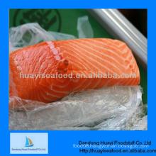 fresh frozen chum salmon fish fillet good supplier