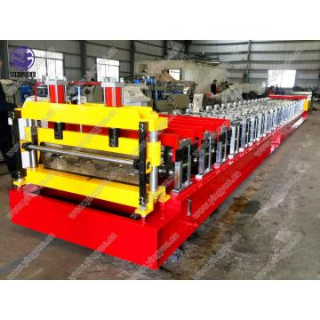 Hydraulisk Metal Floor Deck Roll Forming Machine