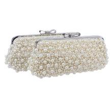 Белый жемчуг дамы ужин мешок муфты, мешок невесты для Свадебные вечерние сумки B00047-1 Люкс девушки сумки