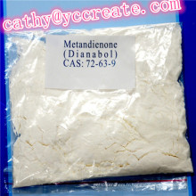 Metandienone oral CAS 72-63-9 pour le gain de muscle et la perte de poids