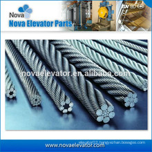 Elevator Lift Traction Steel Wire Rope 8*19S+NF