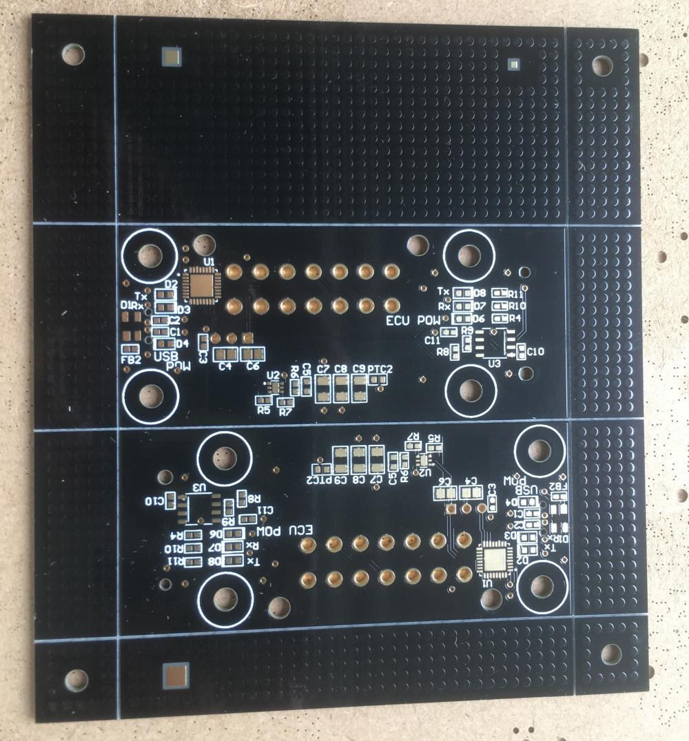 2 layer impedance control PCB