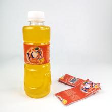 Heat PVC Shrinkable Wrapped Bottled Shrink Sleeve Label For Beverage/ Juice Bottles