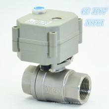 Vanne de coupure électrique miniature pour contrôle de fuite d'eau (T20-S2-B)