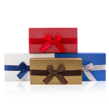 Ribbon Folding Paper Gift Box