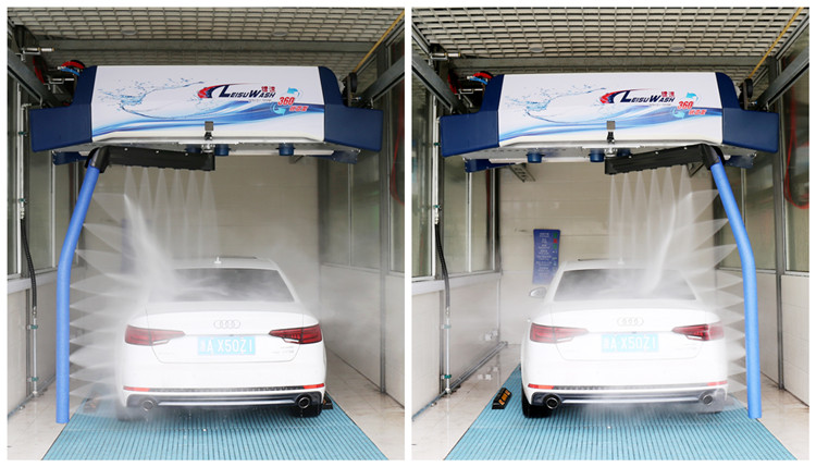 leisuwash 360 mini touchless car wash machine