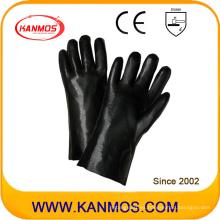 Guantes de trabajo industriales de seguridad a mano industriales de PVC (51208)