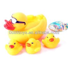 Óculos de sol Banho Pato de borracha Pato de banho