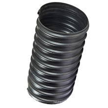 China pipe factory double-wall corrugated duct hdpe polyethylene tube pipe