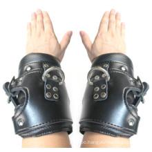 Women Kinky Sex Session Huge Sex Hand Cuffs Handcuff Bondage Sex Bracelet in Faux Leather