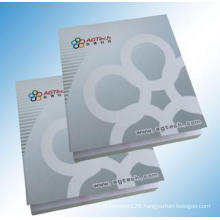 Printed Memo Pad with Logo, High Quality Sticker