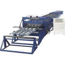Máquina formadora de rolos de deck de piso série / linha de máquinas para painel de aço ondulado