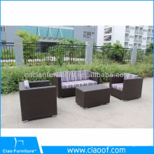China Supplier Unique Design Malaysia Luxury Garden Sofa Set