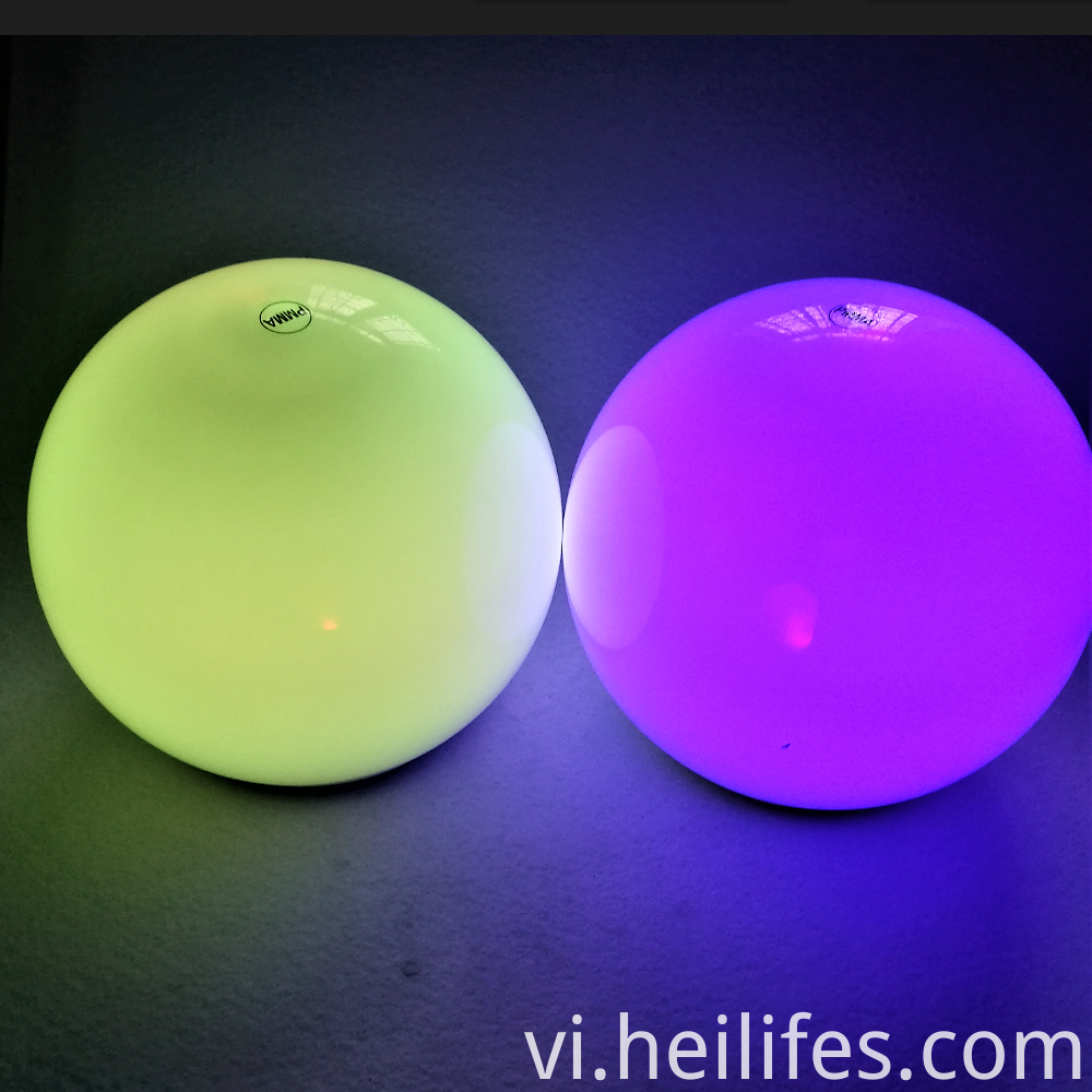 waterproof color changing LED ball light