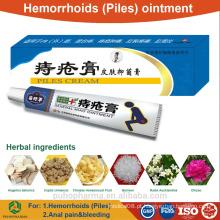 Pomada Herbal para pilhas (hemorróidas) Creme de pilhas OEM