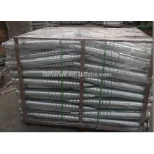 Pila de tornillo de acero de alta tecnología resistente para la cerca