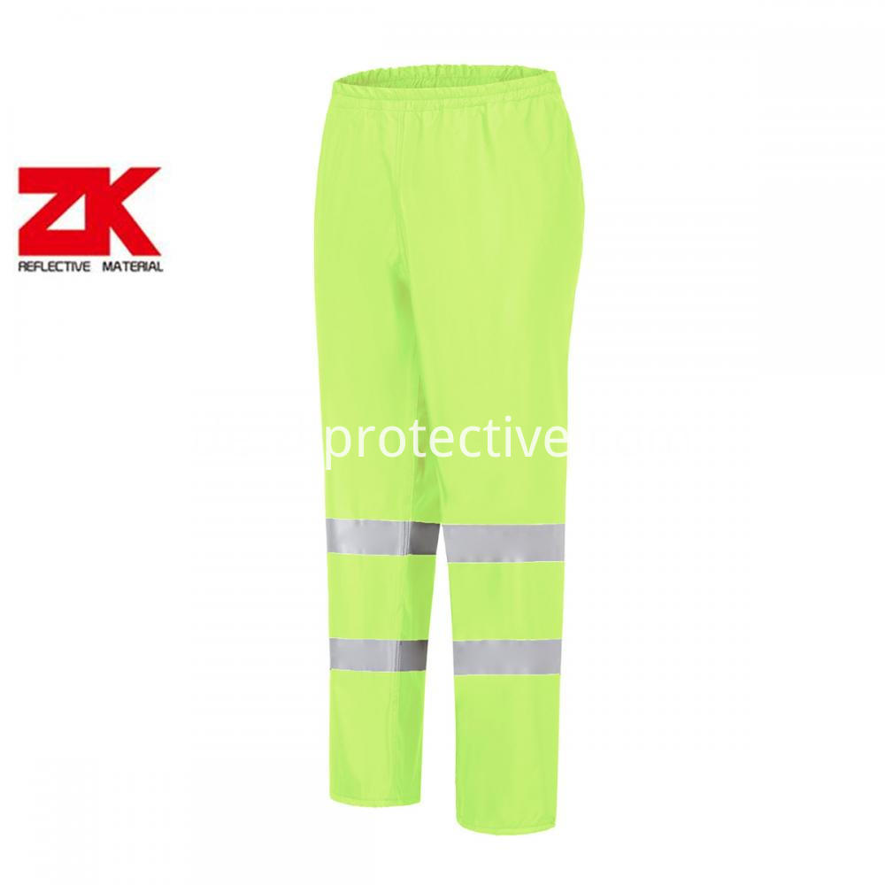Pants With Reflective Tapes