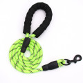 Amazon New Products Dogs Out Nylon Rose Red Round Rope Leash Pet Products