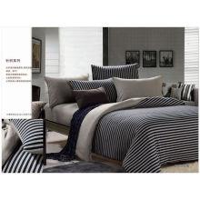 Roupa de cama de algodão colorido 100% natural