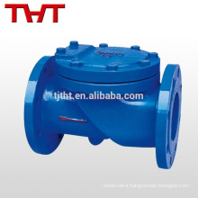 flapper flange type a216wcb carbon steel swing check valve
