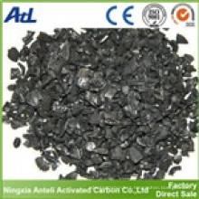 carbón activado para extracción de metales