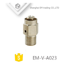 EM-V-A023 Manual brass nickle plated radiator fitting air release valve