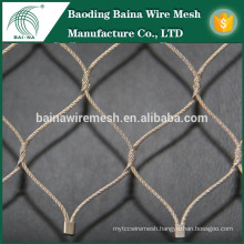 Stainless steel wire woven fence with favorable price
