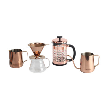 Amazon Bestseller 2020 Kupfer Coffeeware Dripper Set